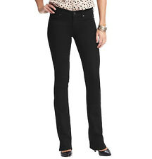 Ann Taylor LOFT Modern Sexy Boot Jeans Pants in Black Size 24/00, 27/4 NWT