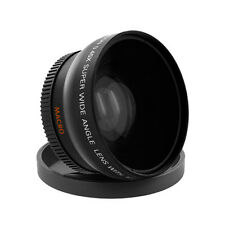 58mm 0.43X Wide angle Lens For Canon 18-55mm 75-300mm 55-250mm 50mm 1.4 Lenses
