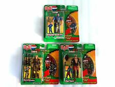 NEW GI JOE Mission Discs SHIPWRECK DUSTY ZARTAN SpyTroops 1 of 3 2 of 3 3 of 3