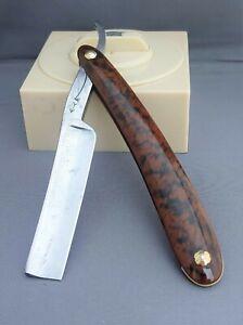 Vintage Restored WOSTENHOLM - PIPE & ARROW Straight Razor - Shave Ready