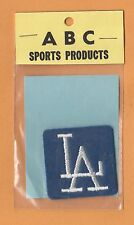 OLD LOS ANGELES L A DODGERS STITCHED PATCH STILL PACKAGED