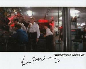 James Bond Autograph: KEVIN McNALLY (The Spy Who Loved Me)
