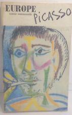 Revue Europe 1970 . Picasso, très bon état