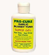 Pro-Cure Super Sticky Gel 2 oz Garlic Bloody Tuna Fishing Scent Attractant