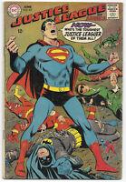 Justice League of America #63 1968 VG/FN DC Comics Free Bag/Board