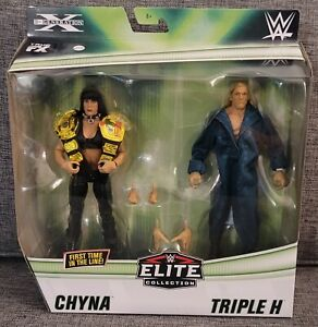 WWE Elite Collection D- Generation X Triple H and China 2 Pack RARE