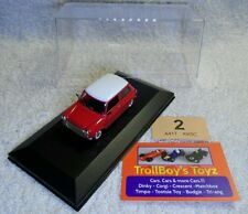 Lot 2. Del Prado 1/43. Mini Cooper 1970. NEW With Display Case.
