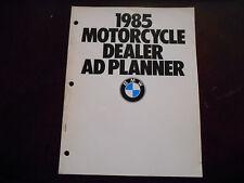 NOS BMW OEM 1985 Motorcycle Dealer AD Planner K100 R80 R65 RS RT G/S
