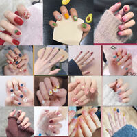24pcs French False Nail TipsTEUS