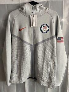 Nike Tech Pack Windrunner Team USA Olympic Jacket Hoodie Size Medium CT2798-043