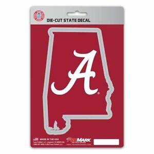 Alabama Crimson Tide Die-Cut State Decal