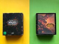 WOW World of Warcraft CATACLYSM Collectors Edition PC Spiel OVP Box CD Buch NEU