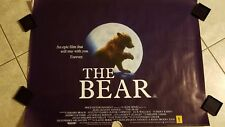 The Bear movie poster - Jean Jacques Annaud