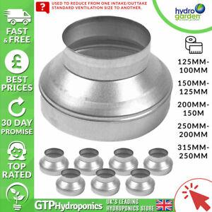 Metal Pressed Ventilation Reducer - 100mm/125mm/150mm/200mm/250mm/315mm