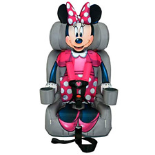 KidsEmbrace 2-in-1 Harness Booster Car 1 Count (Pack of 1), Minnie mouse