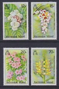 ASCENSION 1985 Wild Flowers MINT set sg389-392 MNH