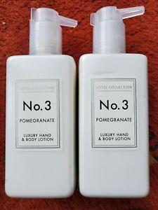 2 x Aldi No 3 Pomegranate Luxury Hand & Body Lotion New