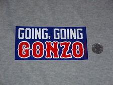 Los Angeles Dodgers Adrian Gonzalez Gonzo Home Run Logo Bumper Sticker FREESHIP