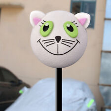 1x Cute Lovely Cat Car Antenna Ball Topper Decor EVA Decoration Universal Hot