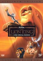 The Lion King (DVD, 2003, 2-Disc Set, Platinum Edition, French Version, Widescr)