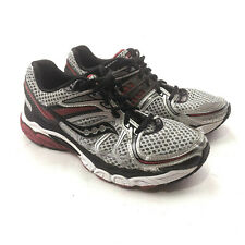 Saucony Progrid Pinnacle 2 Running Silver Black Athletic Shoe Mens Size: 8.5