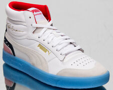 Puma Ralph Sampson Mid 4th of July Men's White Blue Red Lifestyle Sneakers Shoes