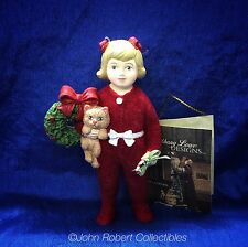 BETHANY LOWE CHRISTMAS ORNAMENT ANN WITH KITTEN