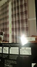 """66"""" x 54"""" Lined Eyelet Curtains"""