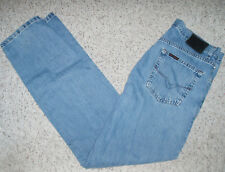HARLEY DAVIDSON Straight Zip Fly Denim Blue Jeans~Size 32 x 34