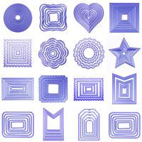 Fai da Te Metallo Fustelle Stampo Album Carta Rilievo Scrapbooking Artigianato