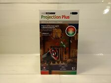 Gemmy Projection Plus Whirl A Motion & Static Candy Canes Christmas Light ch252
