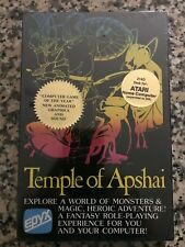Atari Computers Temple of Apshai Video Game Disk 32K - NEW shrink-wrapped