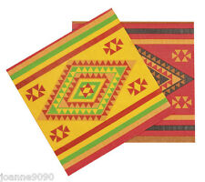 12 Mexican Mexico Fiesta Partyware Fancy Dress Decoration Party Paper Napkins
