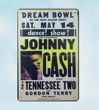 decorative items Tennessee Two Johnny Cash metal tin sign