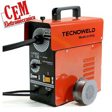 Welding Mini Mig Tecnoweld 95 A (no gas) by awelco wire cored + mask
