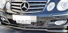 CARBON FIBER Front Lip Spoiler For Mercedes E-Class W211 E320 E550 07-09 M037