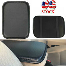 Universal Car Armrest Pad Cover PU Leather Auto Center Console Box Cushion Mat
