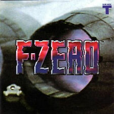 F-zero Music Soundtrack Japanese Cd Game F-zero Snes