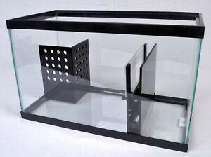 REFUGIUM KIT - 10 Gal 15 Gal 20 Gal Adjustable Depth Aquarium Corner Sump Kits