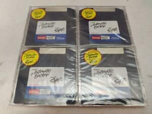 IOMEGA Sync Automatic Backup ZIP DISK 750MB Solutions Suite Software Lot of 4