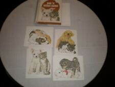 Pup N Kitten Note Cards with Envelopes