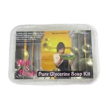 Pure Glycerine Soap Making Kit - Melt & Pour 475g Tub - Makes 4-5 Regular Bars