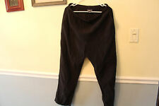Womans Comfy Pants Size Regular Medium Lands End