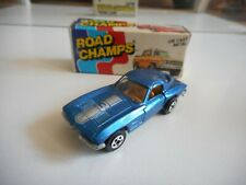 Road Champs '63 Corvette in Metallic Blue in Box