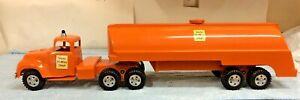 Custom Tonka State Hi Way Fuel Toy Tanker W/ 1957 Tandem Tonka  Truck
