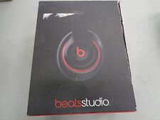 Beats Studio 2.0 Wired Over‑Ear Headphones (Black/Red)
