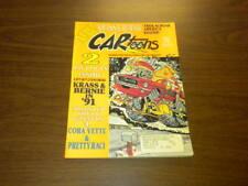 CARTOONS magazine - 1990 December - CAR TOONS - hot rods racing cars PETERSEN