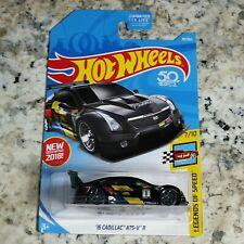 2018 Hot Wheels '16 Cadillac ATS V R 7/10 70/365 HW Legends Of Speed