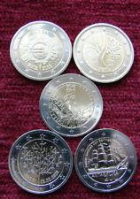 Estonia -  2 Euro Commemorative Coin (Set 5 Coin) UNC