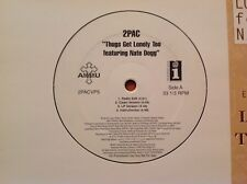 """2pac Feat. Nate Dogg - 2004 vinyl 33 tr/min 12"""" - SINGLE-Thugs Get solitaire Too"""